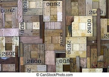 Alte Holzstruktur.