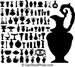 Alte Vasen (Vector)