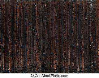 Alter dunkler Holztextur Hintergrund.