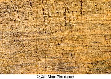 Alter Holzhintergrund mit Cut-Linie