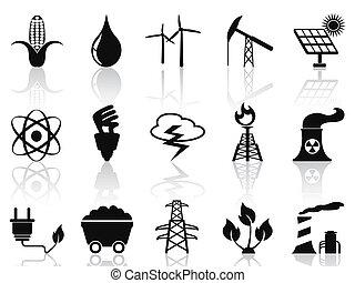 Alternative Energie Icons eingestellt.