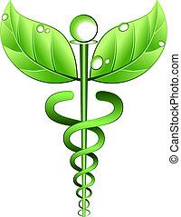 Alternative Medizinsymbolvektor