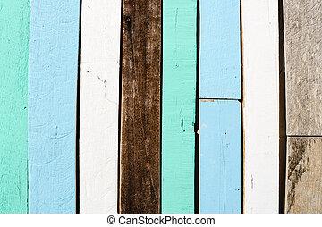 Altes Holz zu einer Wand Hintergrundtextur.