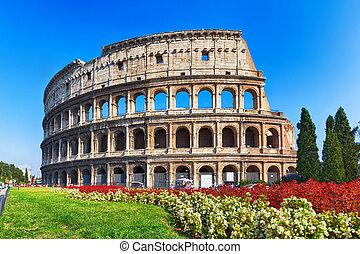 Altes Kolosseum in Rom, Italien.