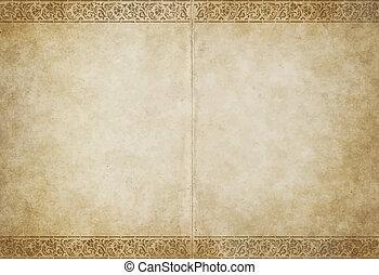 Altes Pergamentpapier