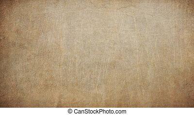 altes , weinlese, beschaffenheit, papier, hintergrund., brauner