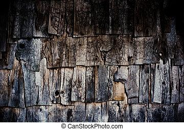 Altes welkes Holz schrumpft die Beschaffenheit