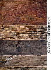 Altholzplanken Hintergrund von oben.