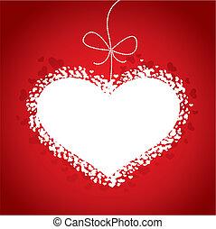 Am Valentinstag rote Karte