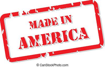 Amerika-Stempel