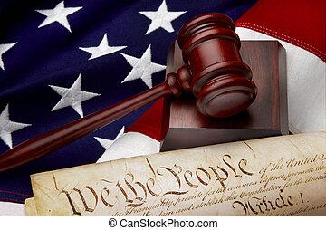 Amerikanische Gerechtigkeit bleibt Leben