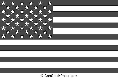 Amerikanische nationale offizielle politische Flagge