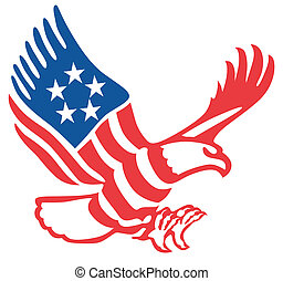 Amerikanischer Adler.