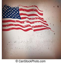 Amerikanischer Flaggen-Varianten Hintergrund.