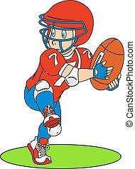 Amerikanischer Footballspieler.