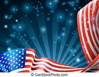 Amerikanisches Hintergrunddesign.