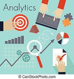 analitics, abbildung