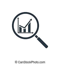 analitics, ikone