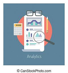Analysen und Statistiken illustrieren