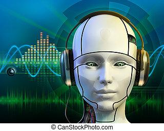android, kopfhörer