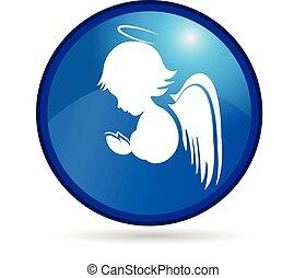 Angel Button Logo.