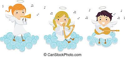 Angelische Musik