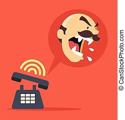 Angry-Boss-Anruf