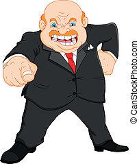 Angry Boss (Geschäftsmann)