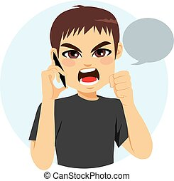 Angry Man Telefon.