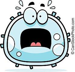 Angst vor weißen Blutzellen.