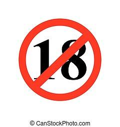 Anmeldung bis 18 Jahre ist verboten.