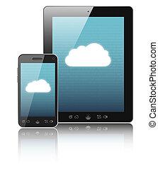 anschluss, cloud-computing