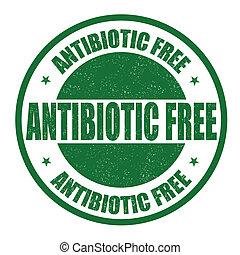 Antibiotikumsfreier Stempel.