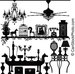 Antike Hausdekorationsmöbel