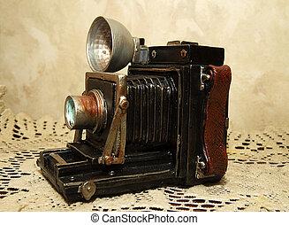 antike kamera, reproduktion