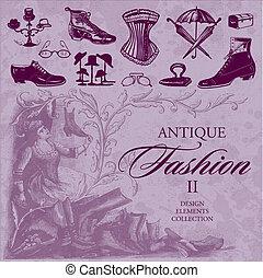 Antike Mode-Set (Vektor)