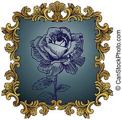 Antike Rose