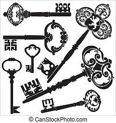 Antike Schlüssel