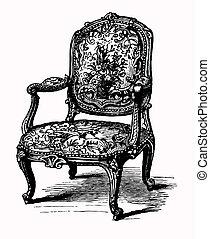 Antike Sessel