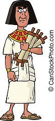 Antiker Ägypter.
