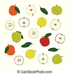 Apple hat Illustrationen.