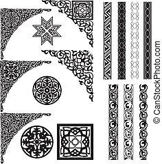 Arabische Zierdecke und Divider