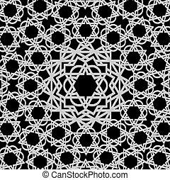 Arabisches geometrisches Muster