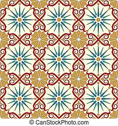 Arabisches nahtloses Muster