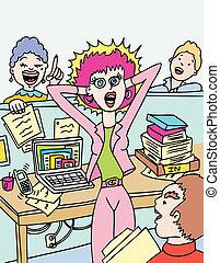 Arbeitsstress