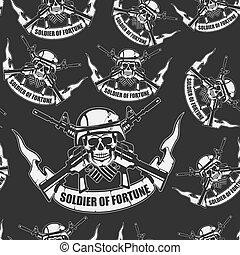 Army Hintergrund ein nahtloser.