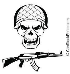 Army Schädelwaffe