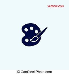 Art-Palette-Vektor-Icon.