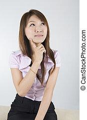Asiatische Geschäftsfrauen