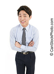 Asiatischer Geschäftsmann.